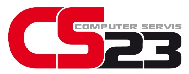 CS23 logo white color small